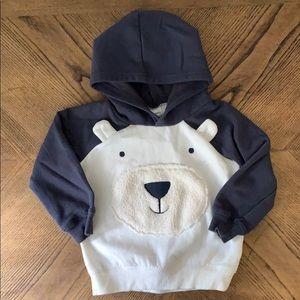 NWOT Carter's Hooded Fleece Sweatshirt
